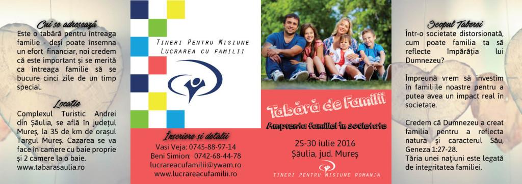 Tabara de familii - Șăulia 2016