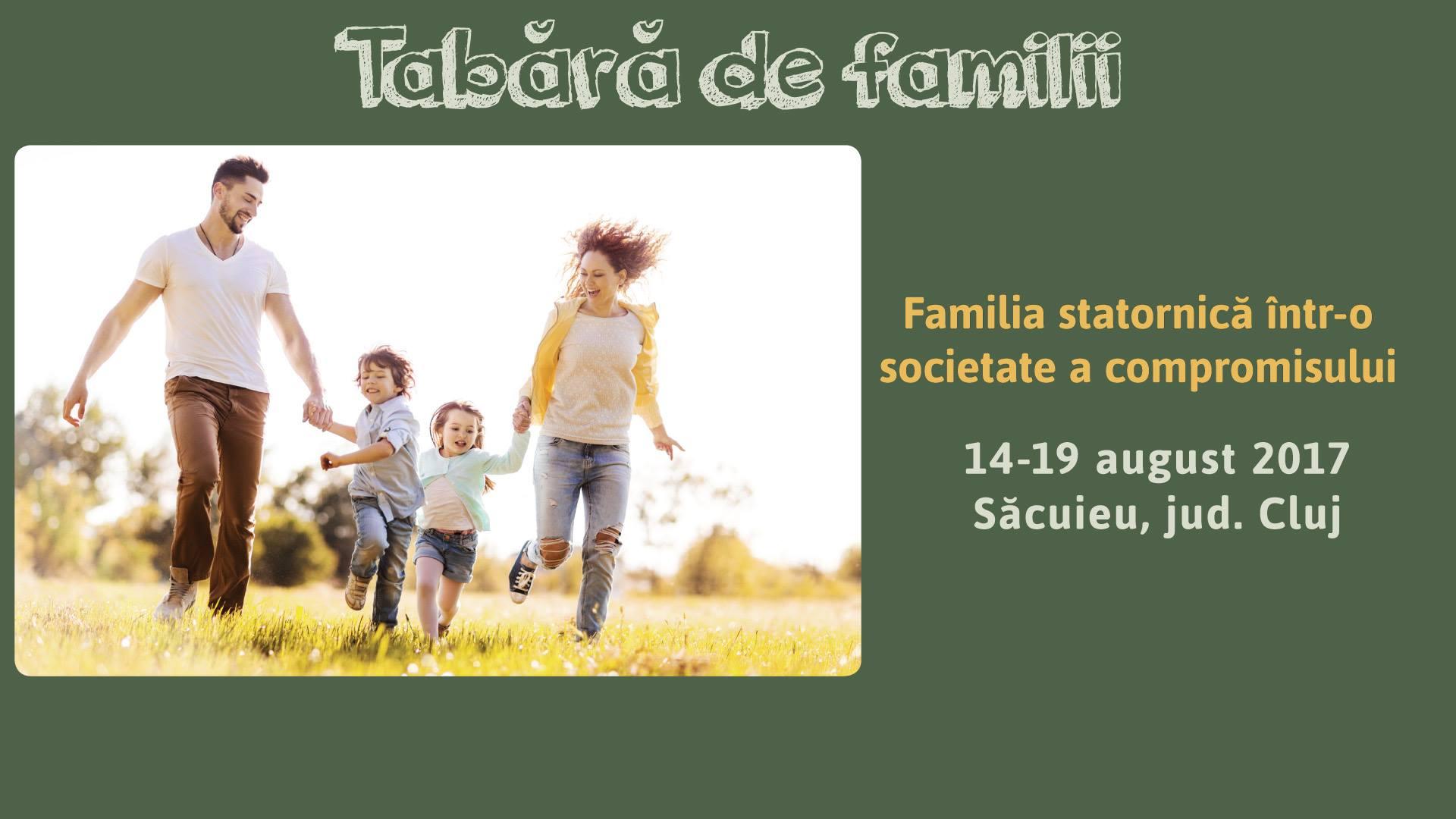 Tabara de Familii 2017